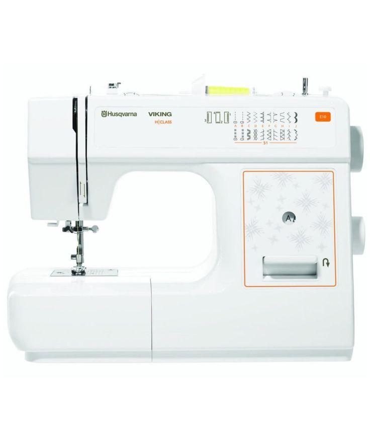 Impara a cucire. Porta a casa la Macchina da Cucire Husqvarna Viking HCLASS E10 con Piedino Tagliacuci Omaggio. Questa macchina è semplice da usare e adatta per i jeans, e ti offre 20 punti pratici, elastici e decorativi. Approfittane subito dell'offerta: https://www.sewshop.eu/it/macchine-da-cucire-husqvarna-viking-meccaniche/macchina-da-cucire-husqvarna-viking-hclass-e10  #cucire #macchinacucire