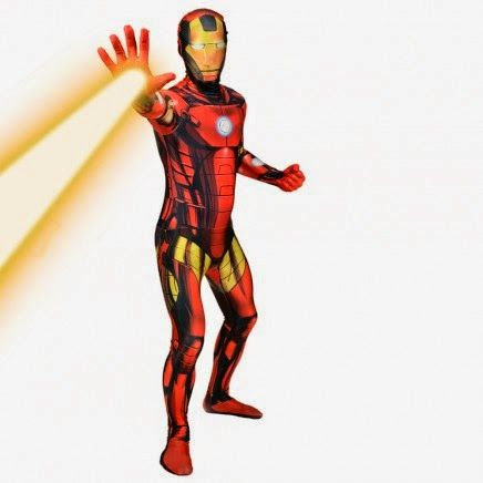 Traje Iron Man Morphsuit | Cosplays