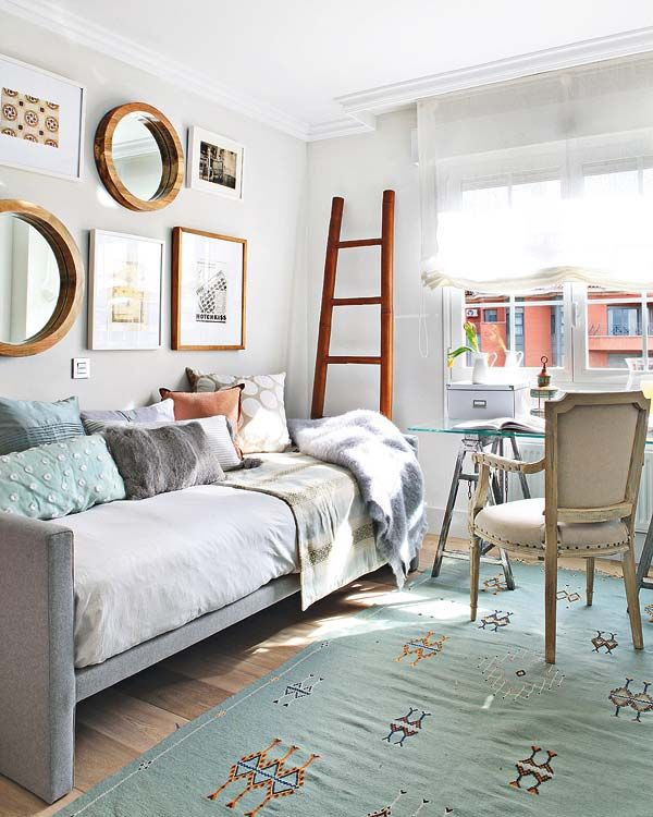 40 inspiring small space interiors - Daybed Small Space