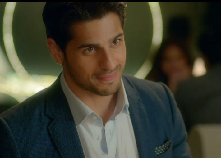Sidharth proposing. He looks extremely cute!!!!!!