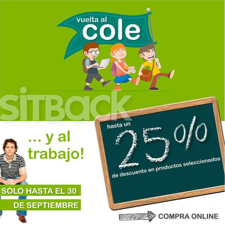 25% de descuento en #SillasOficina seleccionadas ¡Aprovecha!