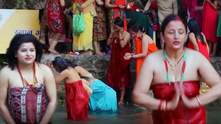 Hindu Woman's Rishi Panchami Holy Bath 2020