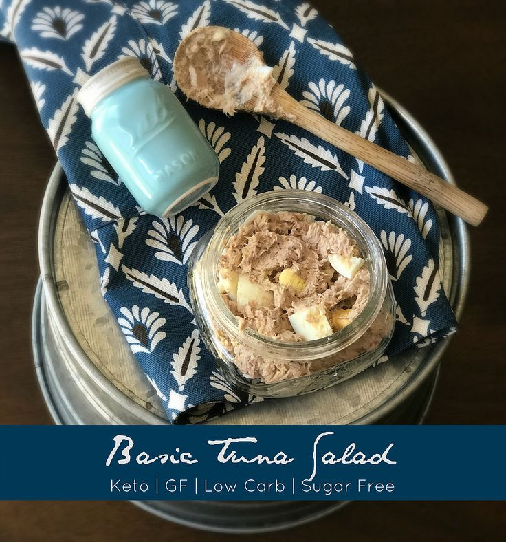 The key to keto success is meal planning and having an arsenal of well-rounded GOOD recipes! I go back to the basics with this recipe for tuna salad.