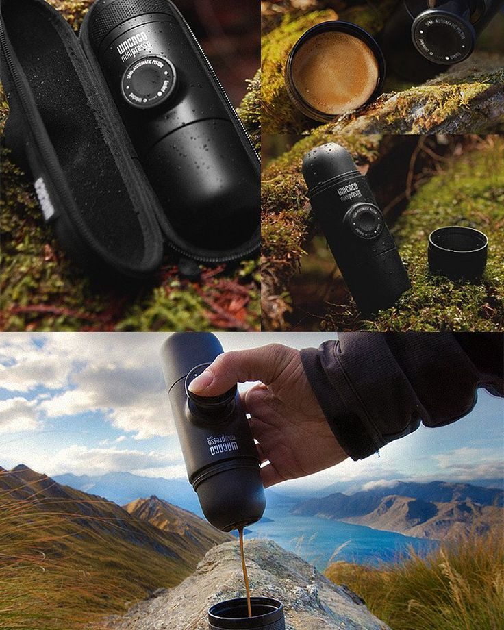 Minipresso GR (For Ground Coffee)- WAKE UP.BREW