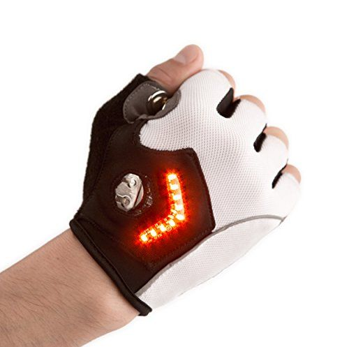 Zackees LED Turn Signal Gloves, White, Small Zackees http://smile.amazon.com/dp/B00QYEEX2C/ref=cm_sw_r_pi_dp_oXrGvb0YJ09M9