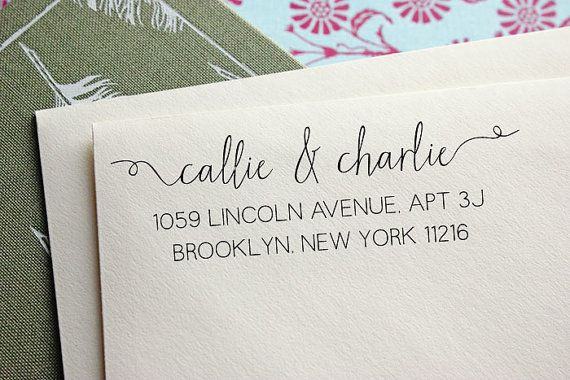 Address Stamp