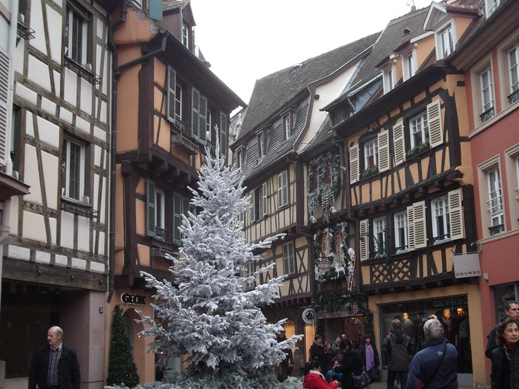 Colmar, France, during Christmas Market. Photo taken by me!