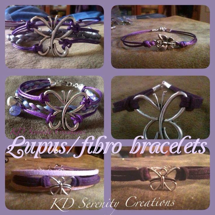 A selection of my Fibro bracelets. KD Serenity Creations www.kdserenity.com