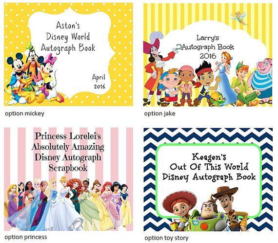 Wollen, da keine Möglichkeit sein, um Fehler Disney Autogramm buchen mit jemand anderem? Sie können problemlos mit einem benutzerdefinierten Deckblatt für Ihr Autogramm Buch dies. Es wird damit jeder weiß, es ist dein und gemacht werden, dass alle über Sie sein! Dieses ist groß, Ihr Buch zu ganz besonderen machen! Wenn Sie bestellen, erhalten Sie eine kostenlose Mickey Autograph-Seite Ihres Buches zu starten! Mit unseren individuellen Seiten (zusätzliche Seiten in einem anderen Angebot) und…