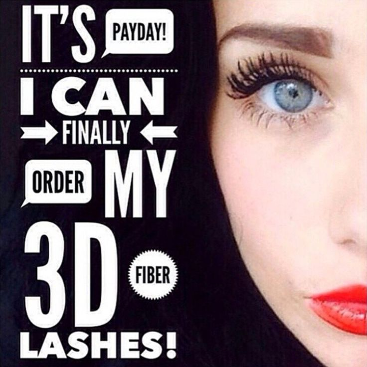 It's Payday!! Order today to have amazing 300%longer lashes with 3D fiber mascara for New Year! 14 day money back guarantee you will love it! order at: www.Getgorgeouseyes.com
