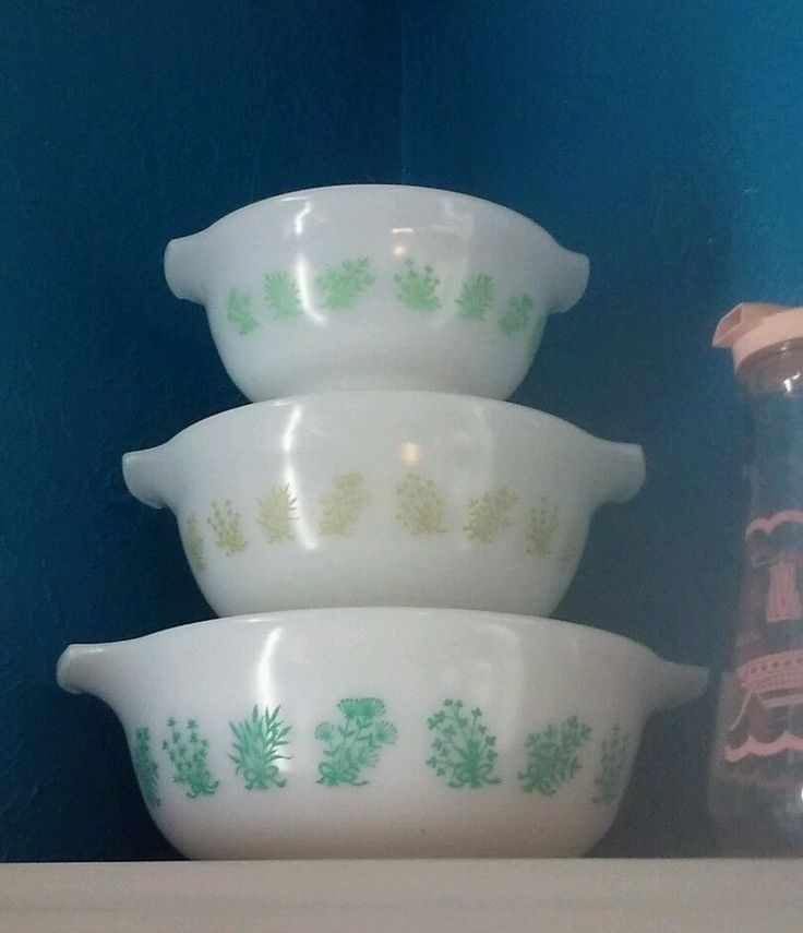 25 best Pyrex, Glasbake, Anchor Hocking & Other Glassware images on ...
