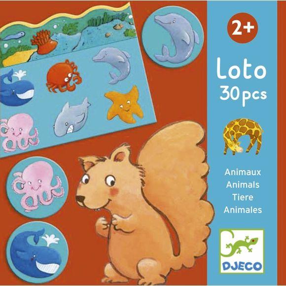 Lottó játék- állatok élőhelye- Lotto animals Djeco   Pandatanoda.hu Játék webáruház