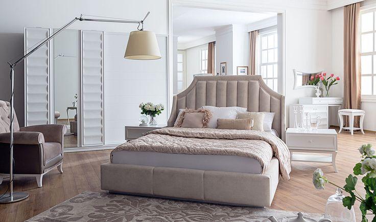 SEDEF YATAK ODASI standartların üstünde kalite ve konforda devrim niteliğinde yenilikleri içinde barındıran yeni bir soluk  #bed #bedroom #furniture #ihtisam #mobilya #home #ev #dekorasyon #kadın #ev #avangarde http://www.yildizmobilya.com.tr/