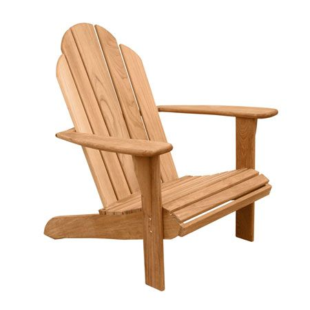 Beautiful Teak Adirondack Chairs u Adirondack Footstools Teak Outdoor Furniture Country Casual