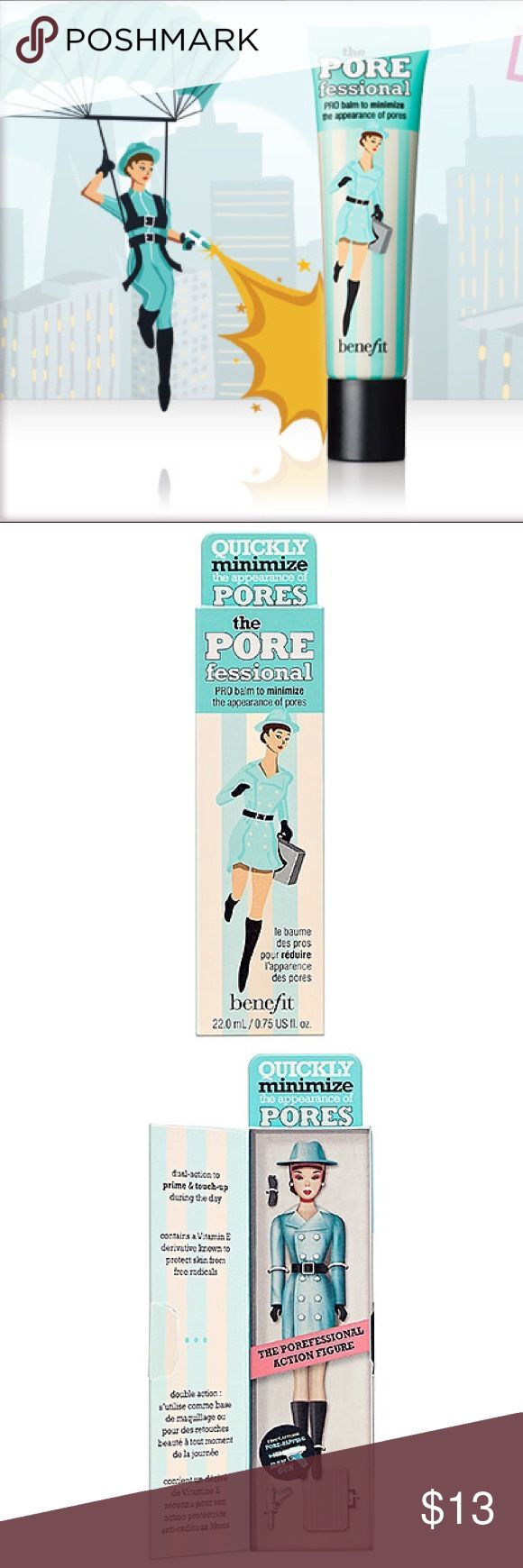 COMING SOON! 🎉🔜🔥The POREFessional Face Primer What it is: An oil-free, professional balm that minimizes the appearance of pores.   What it does: Quickly minimize the appearance of pores & fine lines & help makeup stay put w/ this priming phenomenon. The silky, lightweight formula can be worn under makeup to create a smoother-than-smooth canvas or used throughout the day to mattify shine & touch up problem areas. It's so translucent, no one will know you're wearing anything! Benefit Makeup…