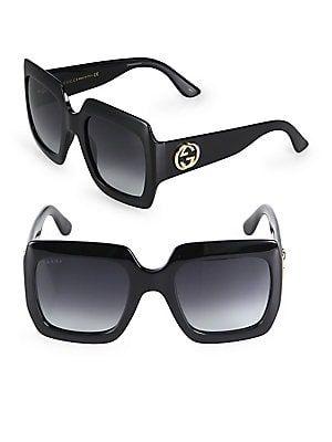 83ffa6ca203f0 Gucci 54MM Oversized Square Sunglasses