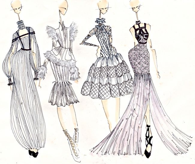 1000+ images about Fashion Illustrations on Pinterest | Fashion ...