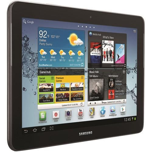 "Samsung Galaxy Tab 2 10.1"" Tablet with 16GB Memory - Titanium Silver (Refurbished)"