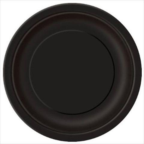 Svarte engangsfat. 16 stk vanligste strl, ca 22cm diameter