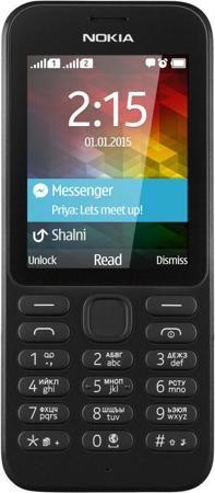 Nokia 215 Dual Sim (черный)  — 2690 руб. —  НАДЕЖНОСТЬ Удивительная прочность корпуса и большой ресурс аккумулятора обеспечат долгую, действительно долгую работу и настоящую надежность. Nokia 215 Dual SIM – телефон, на который можно положиться. ВСТРОЕННЫЙ ФОНАРИК Фонарик в кармане – это удобно. С помощью Nokia 215 Dual SIM вы сможете подсветить себе дорогу ночью или сориентироваться в помещении, если погас свет. БОЛЬШЕ ЦВЕТОВ Телефон Nokia 215 Dual SIM доступен в корпусе ярко-зеленого…