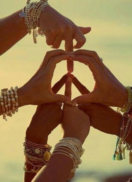 Peace and love ...