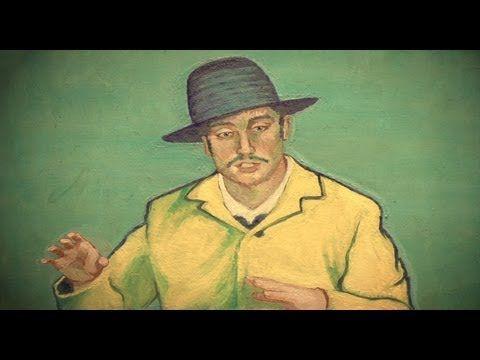 En alweer zo'n beeldschoon filmpje over Vincent van Gogh. Van Gogh, animated