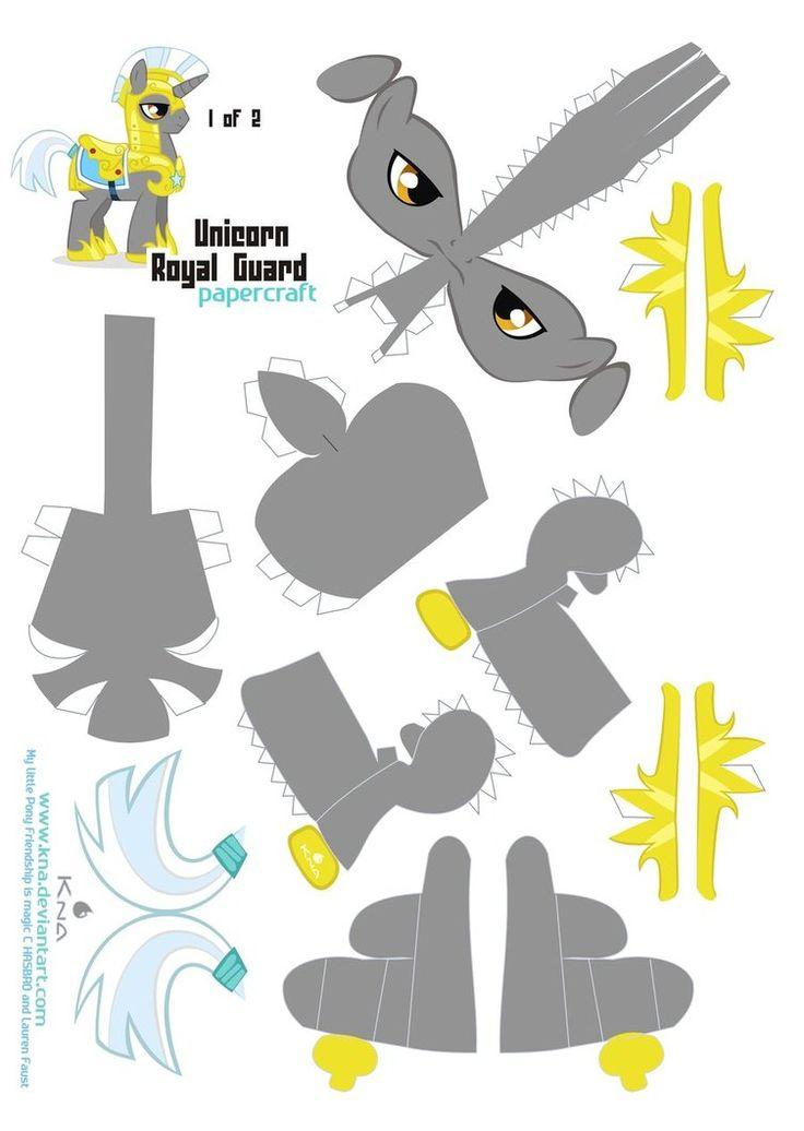 Unicorn Royal guard 1 of 2 by *Kna on deviantART