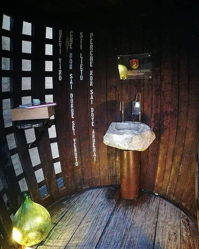 Free Wine Fountain in Abruzzo