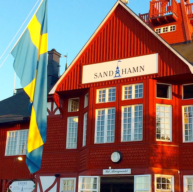 Sandhamn in Stockholm argipelago. If you sail must see in Sweden