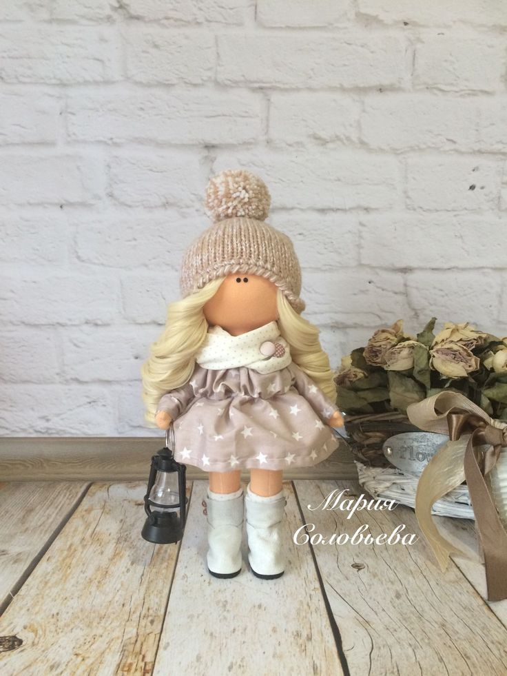 Купить или заказать Текстильная кукла ручной работы в интернет-магазине на…