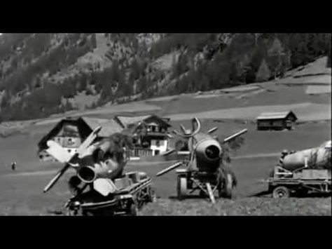 Captured German Secret Weapons: Bachem Ba 349 Natter and Ruhrstahl X-4 (St. Leonhard im Pitztal, Tyrol, Austria, May 1945)