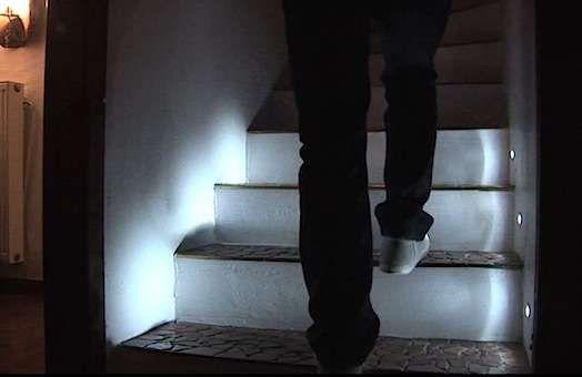 the 25 best led stair lights ideas on pinterest stair. Black Bedroom Furniture Sets. Home Design Ideas