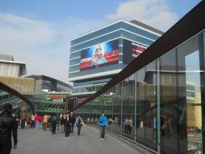 Home away from home, Stratford City Westfield