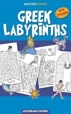 Greek labyrints, activities book, greek culture, visit greece, mythology, mediterraneo editions, www.mediterraneo.gr