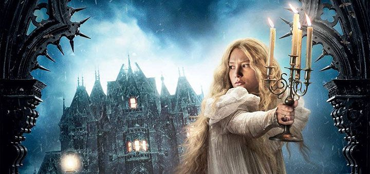 Mia Wasikowska explores the mystery of Tom Hiddleston and Jessica Chastain's haunted mansion in the second Crimson Peak trailer.