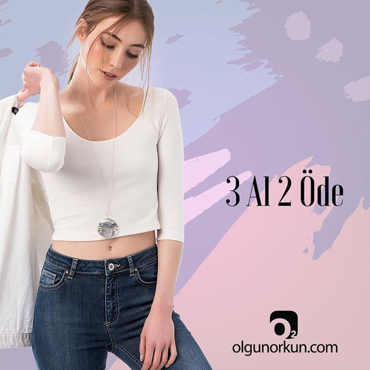 """23 Beğenme, 1 Yorum - Instagram'da olgunorkun.com (@olgunorkuncom): """"Moda tek tıkla kapında. Baharı fırsatlarla karşılayın 3 AL 2 ÖDE Kampanyası ile siz de kazanın.…"""""""