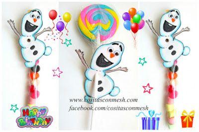 Ideas para una fiesta de frozen con olaf ~ cositasconmesh