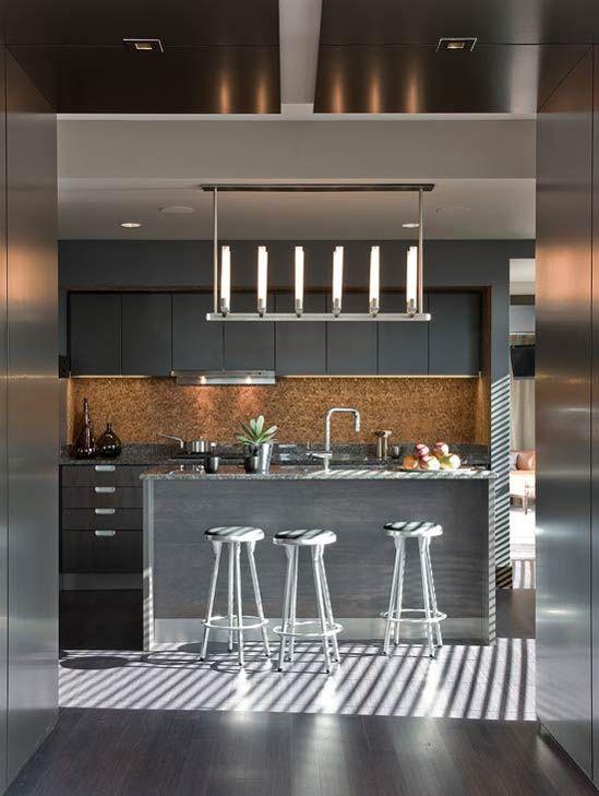 Masculine Kitchen Design Interior Design Architecture Art