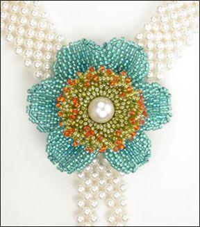 Sweet beadwork by Cynthia Rutledge