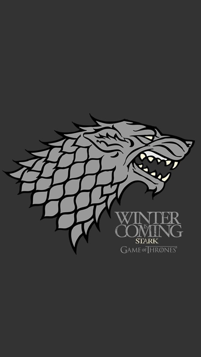 Game of Thrones WInter is Coming iPhone 5 Wallpapers