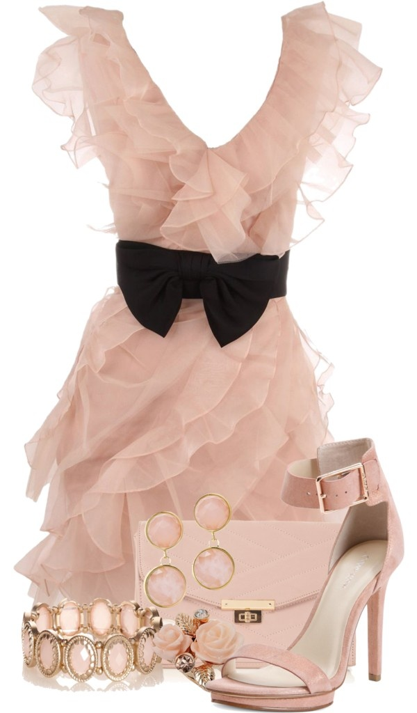 Hermione dress -- want this for a pink-themed wedding reception >_