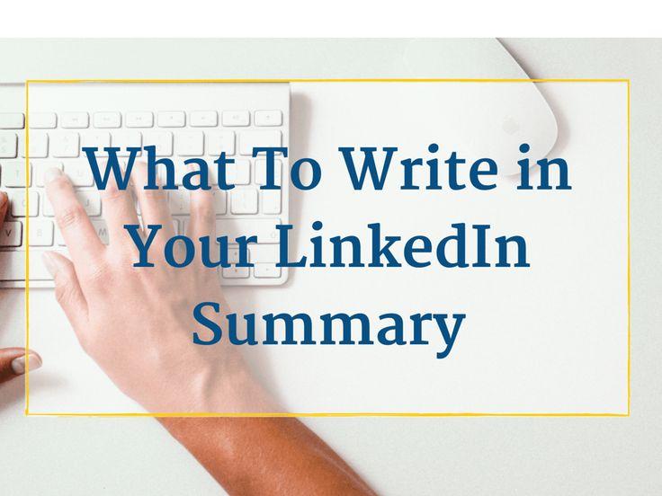 Best  Linkedin Summary Ideas On   Job Search Job