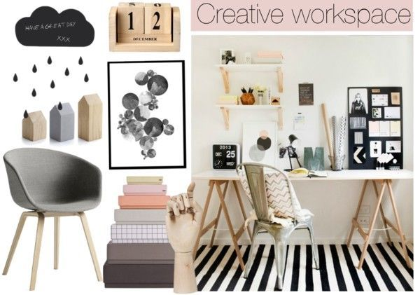 Colors, saw-horse style desk