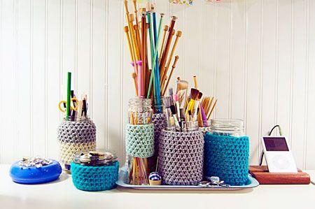 Resultados da Pesquisa de imagens do Google para http://www.viladoartesao.com.br/blog/wp-content/uploads/2011/05/atelier_vidros_reciclados_croche_wise_craft.jpg