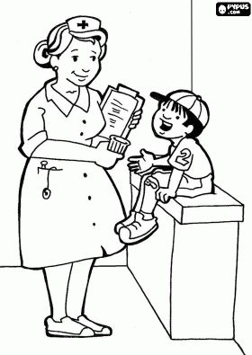 Kids Hospital Coloring Pages And Coloring Pages For Kids