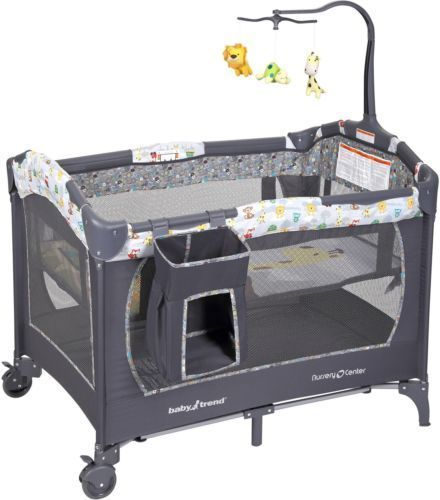 Baby Trend Nursery Center Tanzania Crib Play Bed YardBassinetPlayard090014020057 #BabyTrend