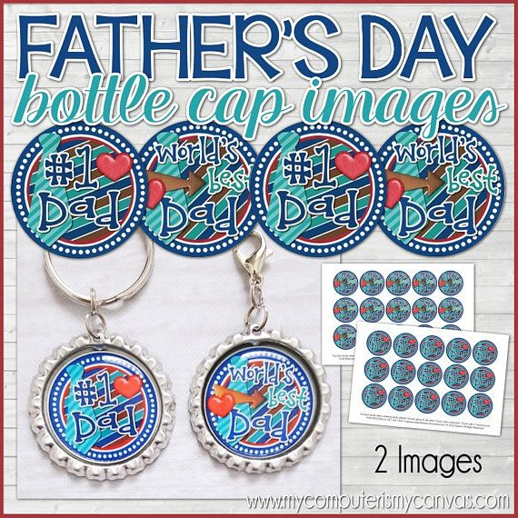 Hey, I found this really awesome Etsy listing at https://www.etsy.com/listing/531424155/worlds-best-dad-bottle-cap-images