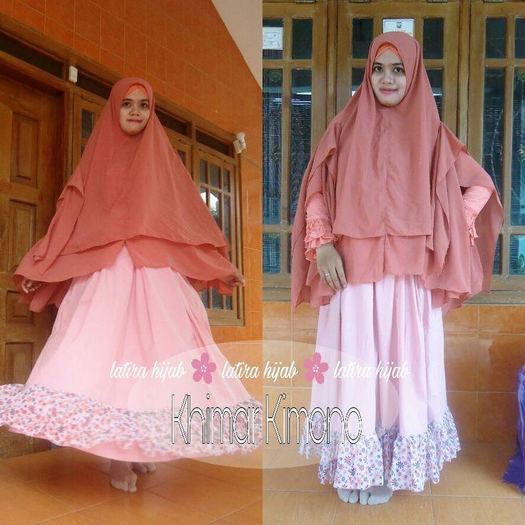 Khimar Kimono, hijab syar'i, khimar Indonesia, hijab kimono, kimono syar'i