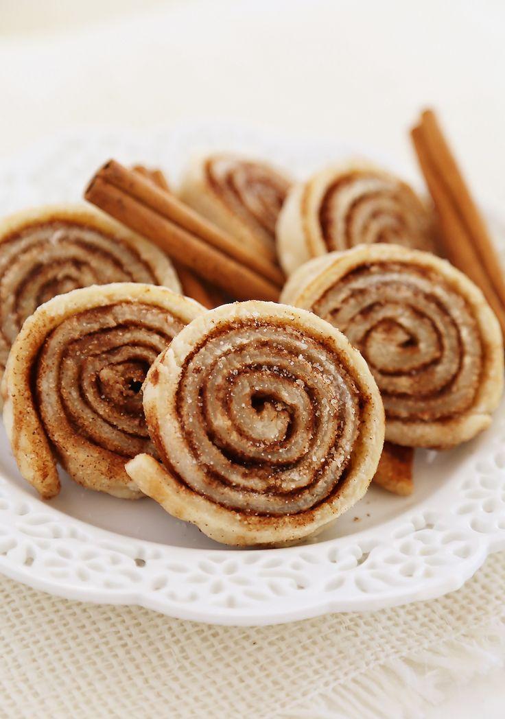 3-Ingredient Cinnamon Sugar Pie Crust Cookies - The ultimate comfort cookie and full of soft, buttery cinnamon-sugar flavor! Thecomfortofcooking.com
