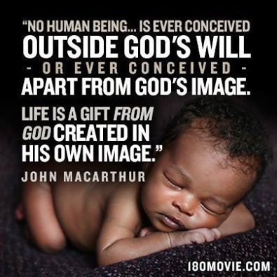 Life begins at conception! Babies are meant to be loved, if you don't want your baby, please consider adoption--there are many people who want to adopt a baby!